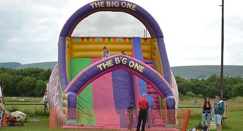 pembrokeshire bouncy castles